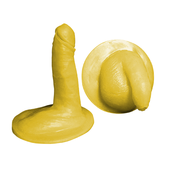 Average size penis kit - Flaccid and erect- Uncircumcised- Model 1- Silicone
