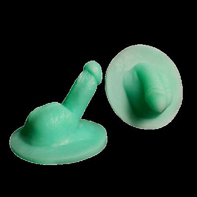 Kit de pénis au repos et en érection- Circoncis- Modèle 2- Silicone