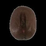 Vulve-peinte- peau brune