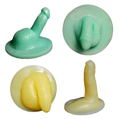 Circumcision kit- Flaccid and erect- Models 1 (average size) and 2 (smaller than average size) - Silicone