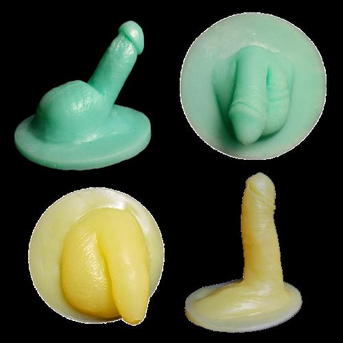 Kit circoncision- Au repos et en érection- Modèles 1 (taille moyenne) et 2 (taille inférieure à la moyenne) - Silicone